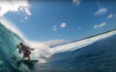 Surf Filming at Nusa Lembongan