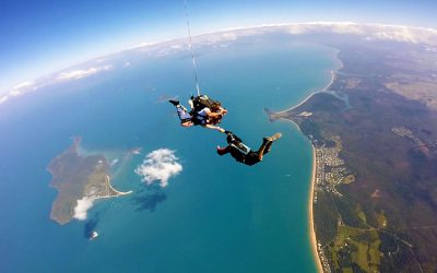 Of jitters up high and lords of the sky: the Aussie Skydive Project