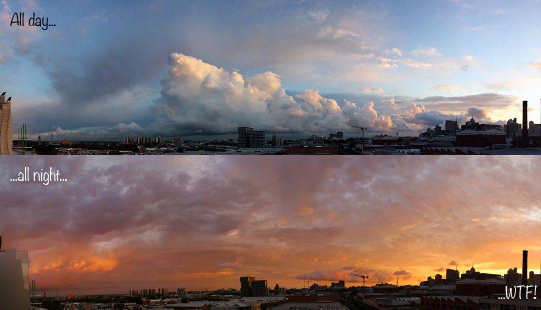 Wonder why Aussie weather is so spectacular?
